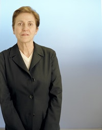 Portrait of Carmen Giménez. Courtesy of Nat Trotman, Guggenheim Museum