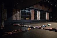 Heather Kravas' ensemble in <em>visions of beauty. </em>Photo: Julieta Cervantes
