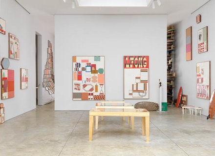 Installation view of <em>Barry McGee</em> courtesy of Cheim & Read