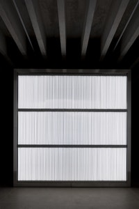 Alfredo Jaar, <em>The Sound of Silence</em>, 2006. Courtesy of the artist, New York and YSP. Photo © Jonty Wilde.