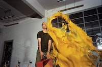 Sergio Prego, <em>Tetsuo, Bound to Fail</em>, 1998. Video, 17:00 minutes. Courtesy Blaffer Museum of Art.