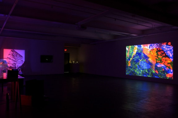 Blinn &amp; Lambert, <em>New Grey Planet</em>, exhibition, 2017, installation view. Courtesy of the artist and Microscope Gallery.