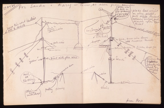 Notes on Calder's Circus, 1949