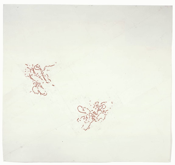 Roni Horn, <em>Were 12</em>. Pigment, varnish, and graphite on paper. 2200 x 2440 mm. Courtesy Hauser & Wirth, London.