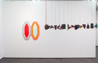 Installation view of <em>Spieltrieb</em>. Courtesy Jack Hanley.
