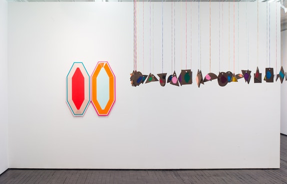 Installation view of <em>Spieltrieb</em>. Courtesy Jack Hanley.
