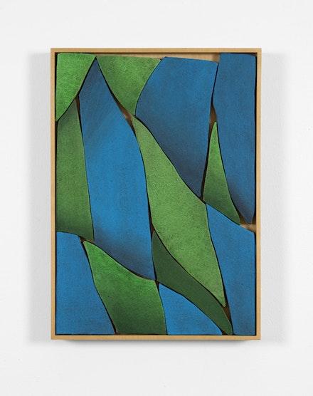 Ryan Mrozowski, <em>Untitled</em>, 2018, Acrylic on linen 18 x 13 inches, Courtesy Jack Hanley.