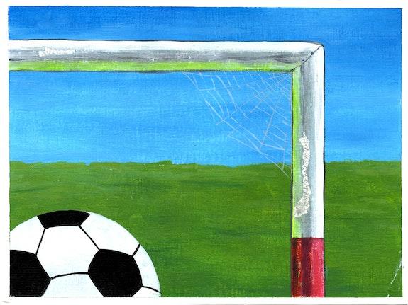 Esteban Ocampo Giraldo, <em>Telarana</em>, 9 x 12 in. Courtesy the artist and Gilter&_____.