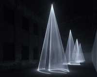 <p><em>Anthony McCall: Solid Light Works </em>(exhibition view). Photo courtesy of Pioneer Works.</p>