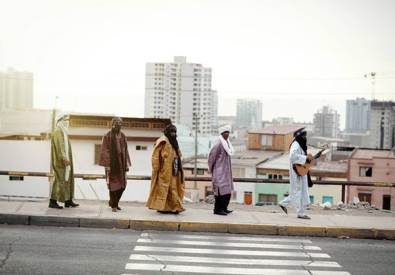 Tinariwen. Photo: Marie Planeille.
