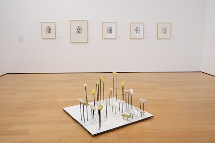 Installation view of Al Taylor, <i>What Are You Looking At?</i>, The Estate of Al Taylor, Courtesy David Zwirner, New York/London.