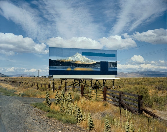 Stephen Shore, <em>U.S. 97, South of Klamath Falls, Oregon, July 21, 1973</em>, 1973. Chromogenic color print, printed 2002, 17 3/4 x 21 15/16 inches. The Museum of Modern Art, New York. The Photography Council Fund. © 2017 Stephen Shore