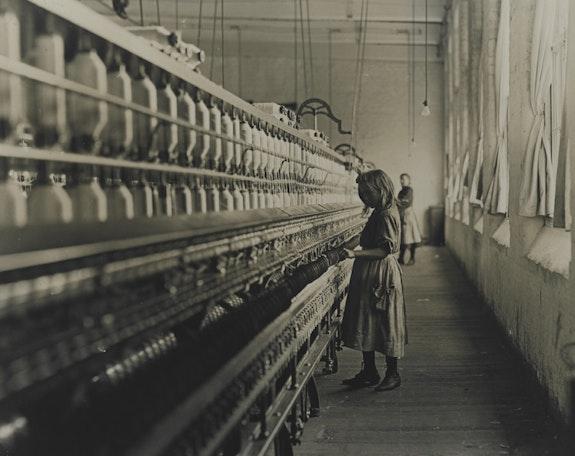 Lewis Wickes Hine, <em>Child Labor</em>, c. 1908,Gelatin silver print. Courtesy Smithsonian Institution.