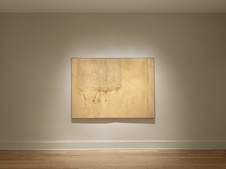 <p>Installation view of <em>Robert Moskowitz: Window Shades, 1959-62</em>. Courtesy Craig F. Starr Gallery</p>