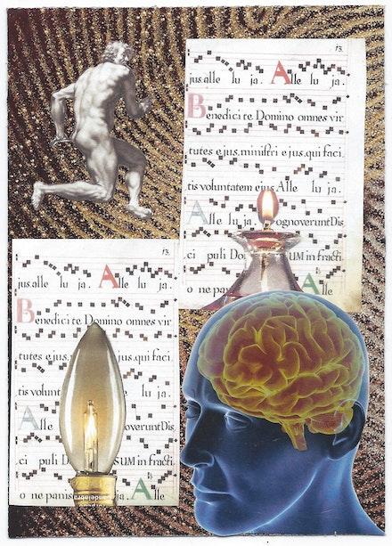 Collage by Steve Dalachinsky