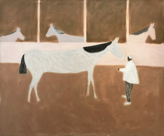 Milton Avery, <em>Race Horse</em>, 1955. Oil on canvas, 50 x 60 inches. &copy; Milton and Sally Avery Arts Foundation.
