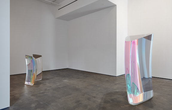 Mariko Mori, <em>Invisible Dimension</em>, installation view, Sean Kelly, New York. Photo: Jason Wyche, New York. Courtesy Sean Kelly, New York.