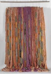 Sheila Hicks, <em>Lianes de Beauvais</em>, 2011-2012. © ADAGP, Paris 2018.