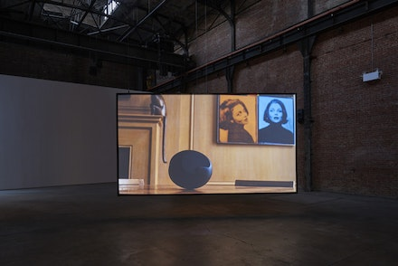 Carissa Rodriguez, <em>The Maid</em>, 2018, installation view, SculptureCenter, New York, 2018. Courtesy the artist and Karma International, Zurich/Los Angeles. Photo: Kyle Knodell