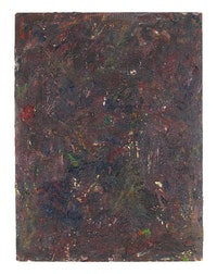 Milton Resnick, <em>STRAW</em>, 1982. Oil on board, 40 x 30 inches. © The Milton Resnick and Pat Passlof Foundation, Courtesy Cheim and Read, New York.