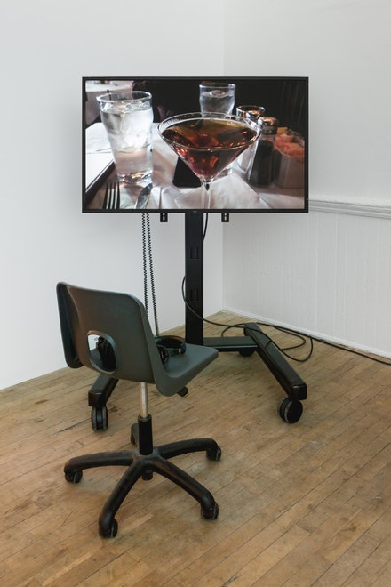 John Neff, <em>Authorization Sessions Set</em>, 2018, Manhattan Project, 2016–2018. Courtesy Artists Space, New York.