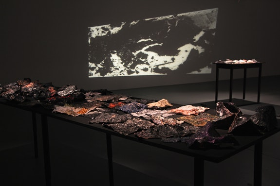 Bradley Eros, <em>All that is solid melts into eros</em> (installation view), 2018. Courtesy the artist and Microscope Gallery.