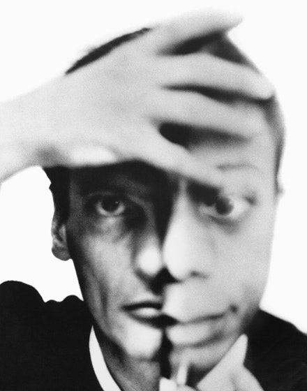 Richard Avedon, Self portrait with James Baldwin, September 1964 © The Richard Avedon Foundation