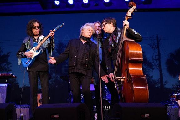 Marty Stuart and his Fabulous Superlatives at the Savannah Music Festival. Photo: Elizabeth Leitzell