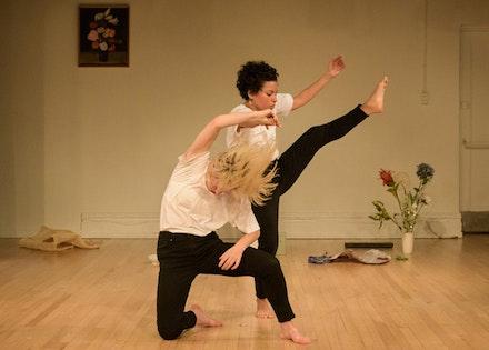 Mariana Valencia and Lydia Okrent. Photo: Ian Douglas
