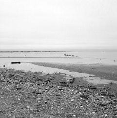 Looking down beach towards the Rockaways. ©2007 Susan Walsh.