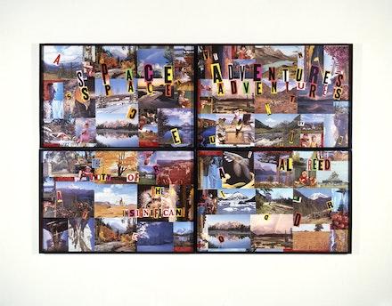 <p>Allen Ruppersberg,&nbsp;<em>Cover Art (Space Adventures),</em>&nbsp;1985. Courtesy the Hammer Museum, Los Angeles.</p>
