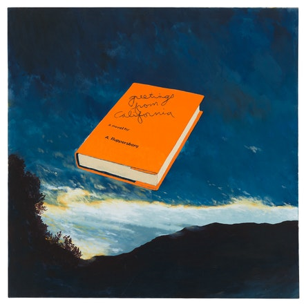 <p>Allen Ruppersberg,&nbsp;<em>Greetings from California</em>, 1972. Courtesy the Whitney Museum of American Art.</p>
