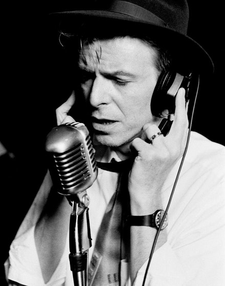 David Bowie, 1992. Photograph by Peter Gabriel. Private Collection, Vienna, Austria. Courtesy of the photographer. © Peter Gabriel