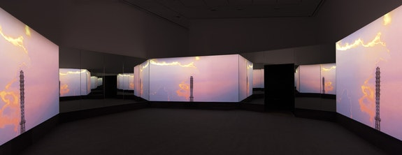 Installation view, Doug Aitken: <em>New Era</em>, 303 Gallery, New York, April 13 - May 25, 2018.©Doug Aitken, courtesy 303 Gallery, New York