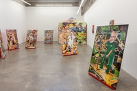 Installation view of Sheida Soleimani: <em>Medium of Exchange</em>, Atlanta Contemporary, 2018. Courtesy Atlanta Contemporary.
