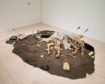 Fernando Palma Rodr&iacute;guez: <em>In Ixtli in Yollotl, We the People</em>, installation view, MoMA PS1, 2018. Image courtesy MoMA PS1. Artwork courtesy the artist and House of Gaga, Mexico City. Photo: Kris Graves.