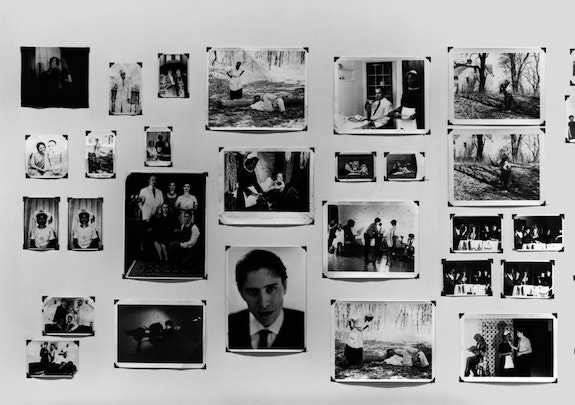 Zoe Leonard, <em>The Fae Richards Photo Archive </em>(detail), 1993-96. 78 gelatin silver prints and 4 chromogenic prints, dimensions variable.  Courtesy the Whitney Museum of American Art.