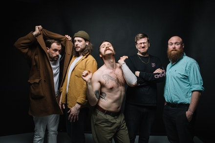 Idles. Photo courtesy of Partisan Records.