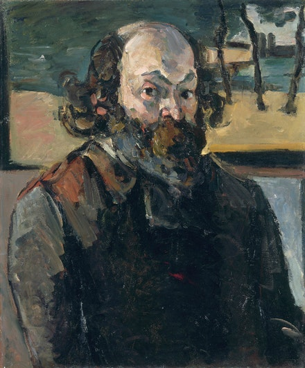 <p>Paul Cézanne, <em>Self-Portrait</em>, c. 1875. Oil on canvas, 25 9/16 x 21 1/4 inches. Musée d'Orsay, Paris, gift of Jacques Laroche, 1947 © RMN-Grand Palais (Musée d'Orsay) / Hervé Lewandowski.</p>