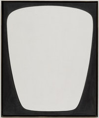 Myron Stout, Aegis, c. 1979. Oil on canvas, 24 1/8 x 20 inches. Museum of Modern Art, New York. Promised gift of Agnes Gund in memory of Richard Bellamy. Courtesy Washburn Gallery, New York. © 2018 The Museum of Modern Art, New York.