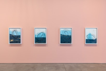 Installation view, Jorinde Voigt: <em>Integral</em>, David Nolan, New York, 2018. © Jorinde Voigt. Courtesy the artist and David Nolan Gallery, New York.