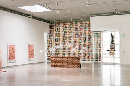 <p>View of Beverly W. Reynolds gallery on the first floor in the Institute for Contemporary Art at VCU. Photo: Terry Brown.</p>