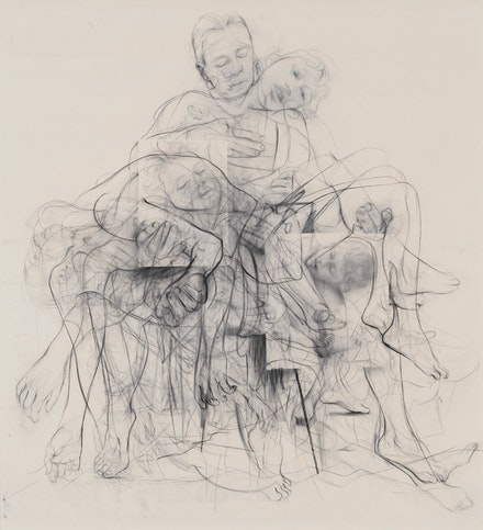 Jenny Saville, <em>Chapter (for Linda Nochlin)</em>, 2016 – 2018. © Jenny Saville. Photo: Robert McKeever. Courtesy Gagosian.
