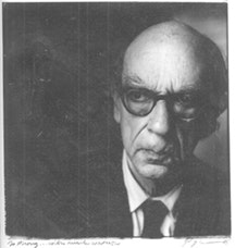 Isaiah Berlin photo by Steve Pyke (1987).