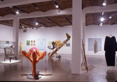 Installation shot of <i>Curious Crystal</i>. Photo courtesy of P.S.1 Contemporary Art Center.