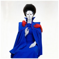Aïda Muluneh, <em>All in One</em>, 2016. Pigmented inkjet print, 31 1/2 x 31 1/2 inches. Courtesy the artist and David Krut Projects. © 2018 Aïda Muluneh.