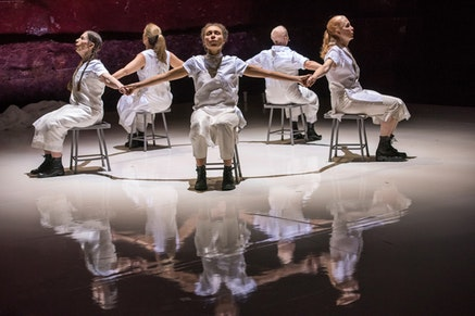 Meredith Monk&rsquo;s <em>Cellular Songs</em>. Photo by Stephanie Berger.