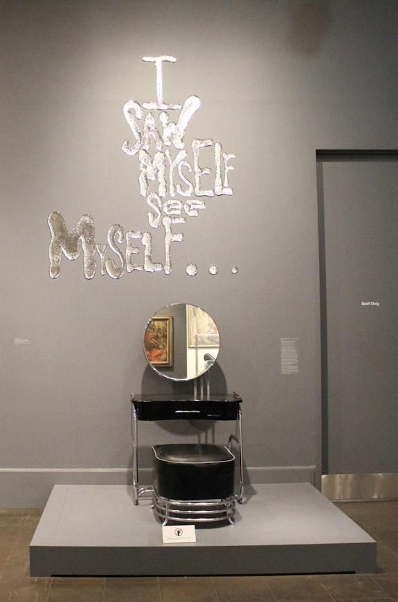 Brooklyn Museum, Installation view, Rob Wynne: <em>FLOAT</em>, Brooklyn Museum, 2018. Photo: Rob Wynne studio.