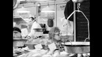 Ernie Gehr, Still from <em>Essex Street Market</em>, 2004, © Ernie Gehr.