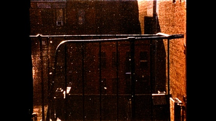 Ernie Gehr, Still from <em>Greene Street</em>, 2004, © Ernie Gehr.